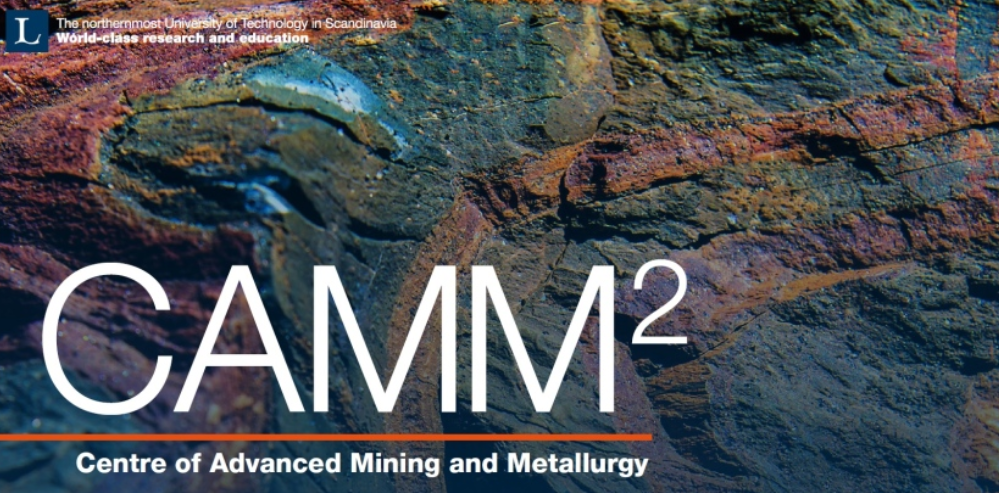 Webpage of the CAMM² centre for Advanced Mining and Metallurgy